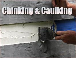 Chinking And Caulking  Knox County, Kentucky
