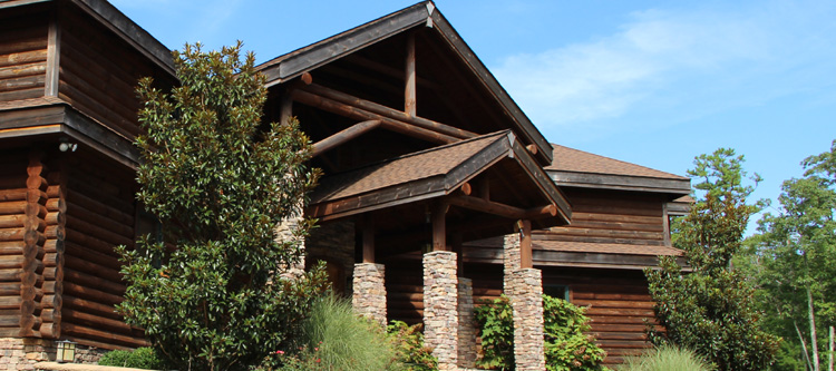 Knox County, Kentucky Log Home Improvements