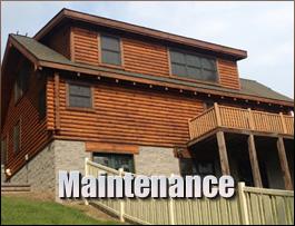 Log Home Maintenance  Knox County, Kentucky