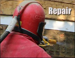 Log Home Repair  Knox County, Kentucky