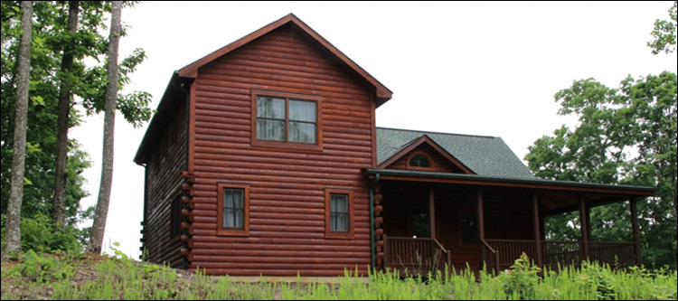 Professional Log Home Borate Application  Knox County, Kentucky